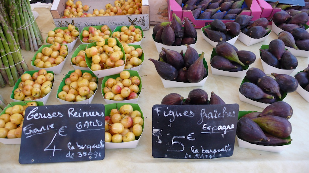 Local produce from Cours Saleya in Nice, France  (Source: MRNY)