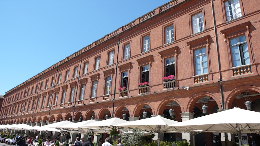 "Toulouse, ""the Pink City,"" radiates a kind of blush - and particularly in summer. (Source: MRNY)"
