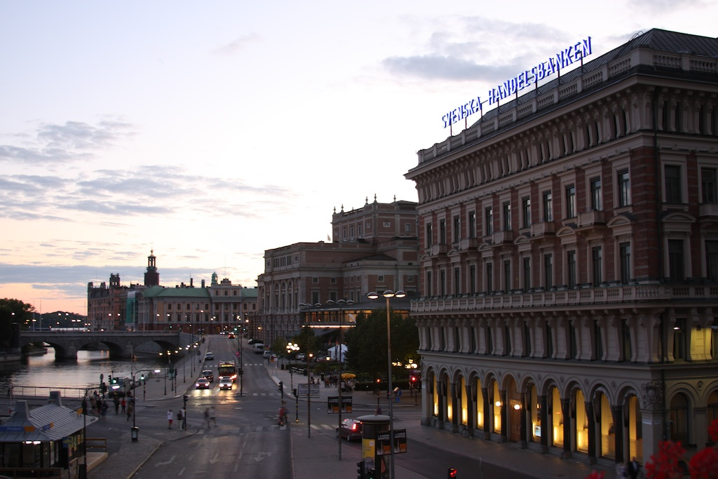 View from Grand Hotel Stockholm (Source: MRNY)
